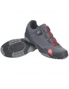 Scott Crus-R Boa Anthra/Red - Scarpa