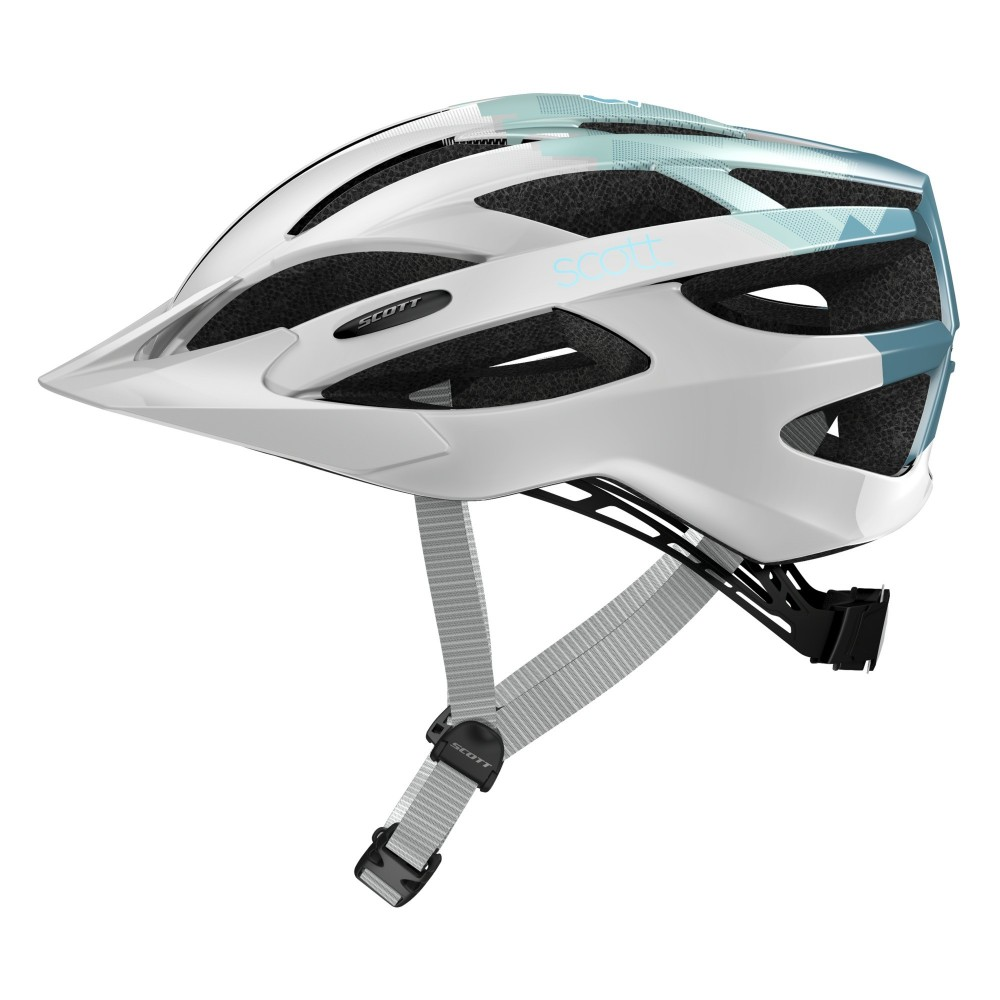 Scott Watu White/Blue - Casco