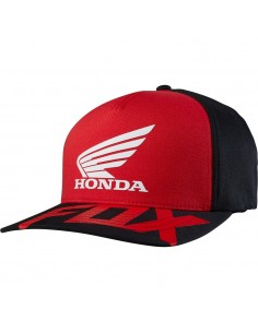Fox Cappellino Basic Honda - Rosso/Bianco