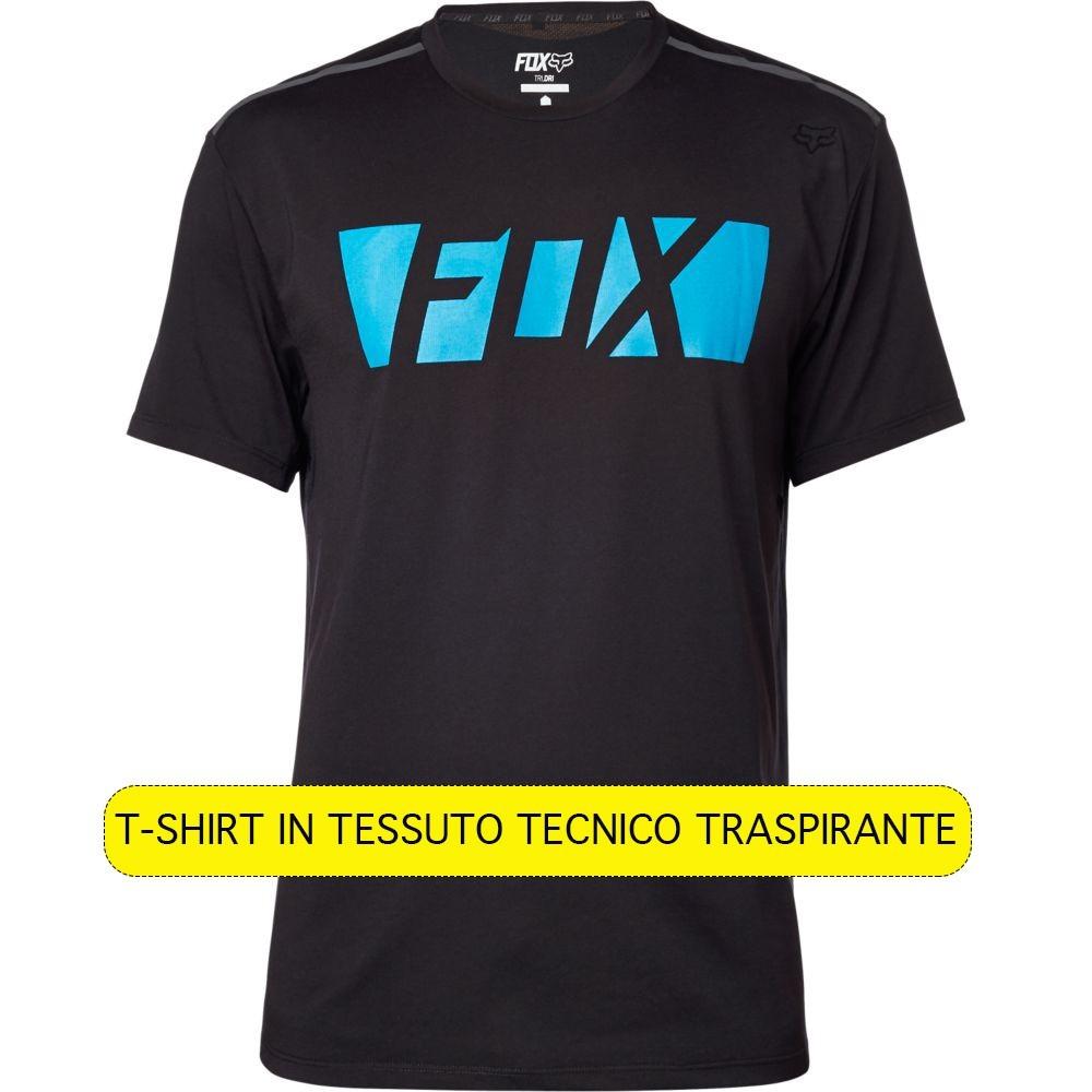 Fox Libra Technical T-shirt - Black