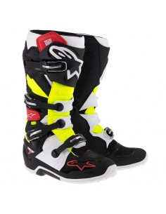 Alpinestars Tech7 - black/red/yellow
