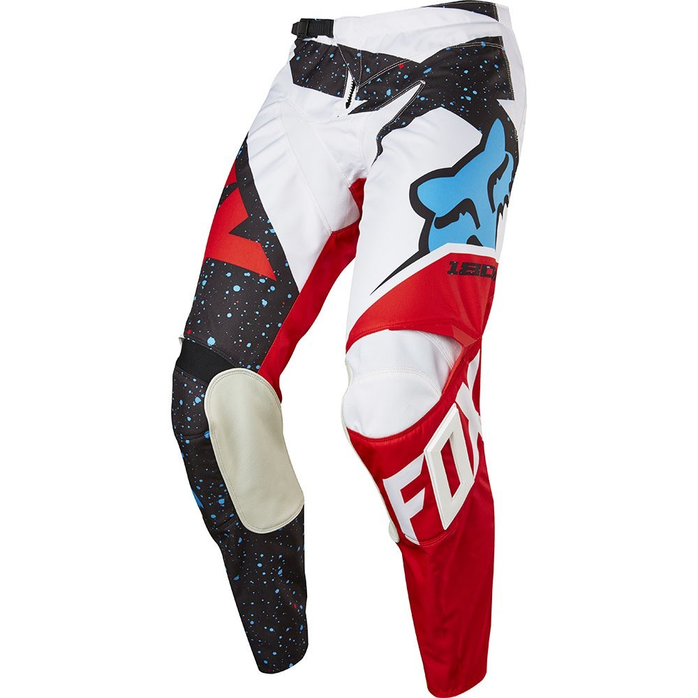 Fox 180 Nirv red white- Pantalone