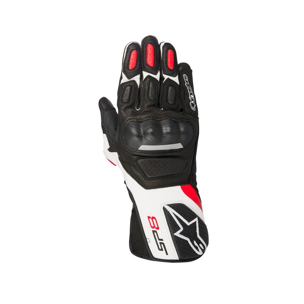 Alpinestars SP-8 - Blk/wht/Red