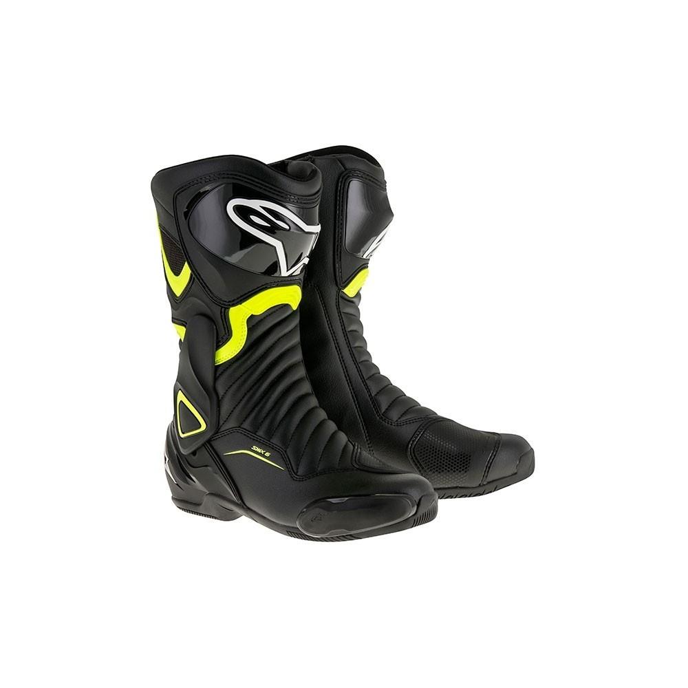 Alpinestars SMX 6 V2 Blk/Yellow Flou