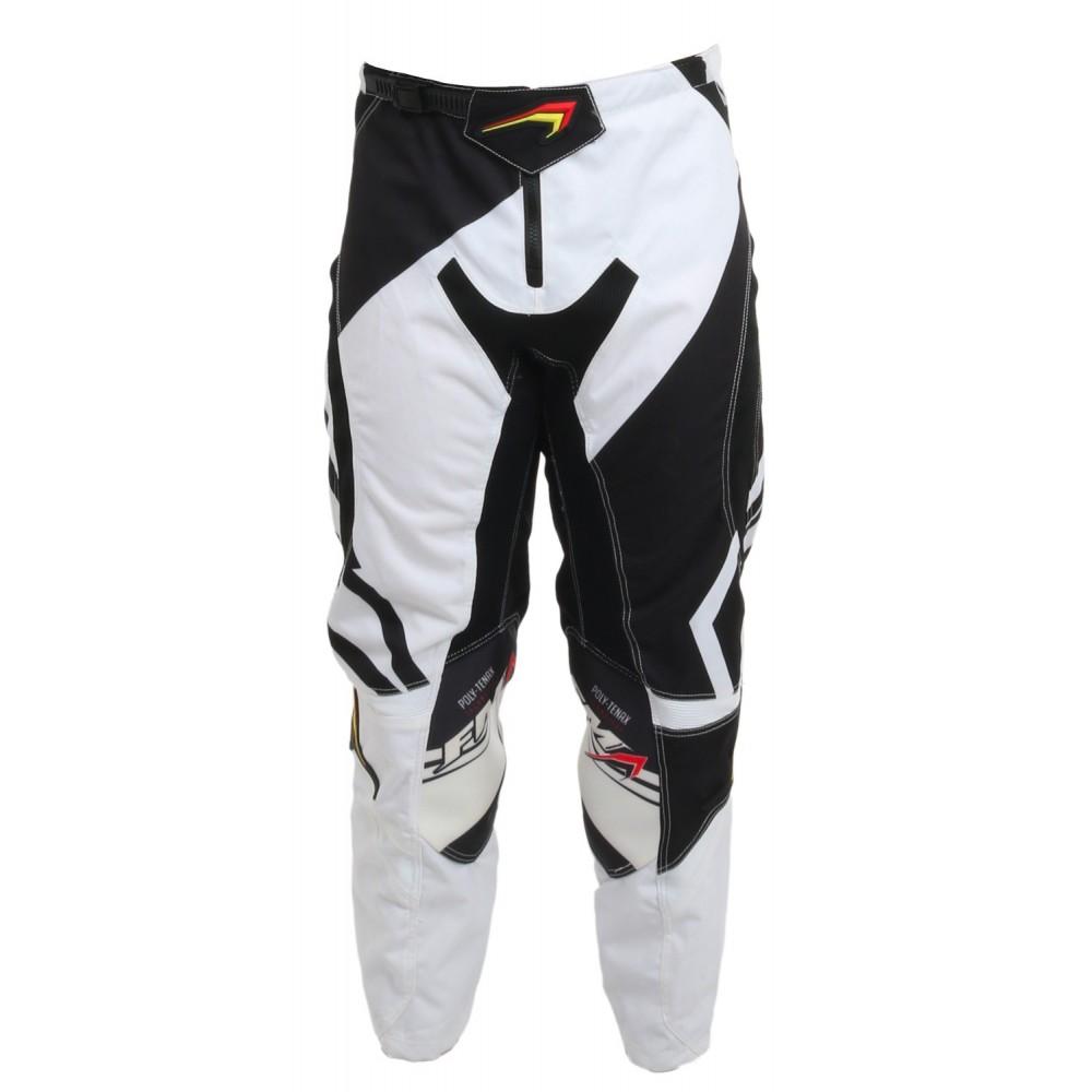 FM Force x23 bianco nero pantalone