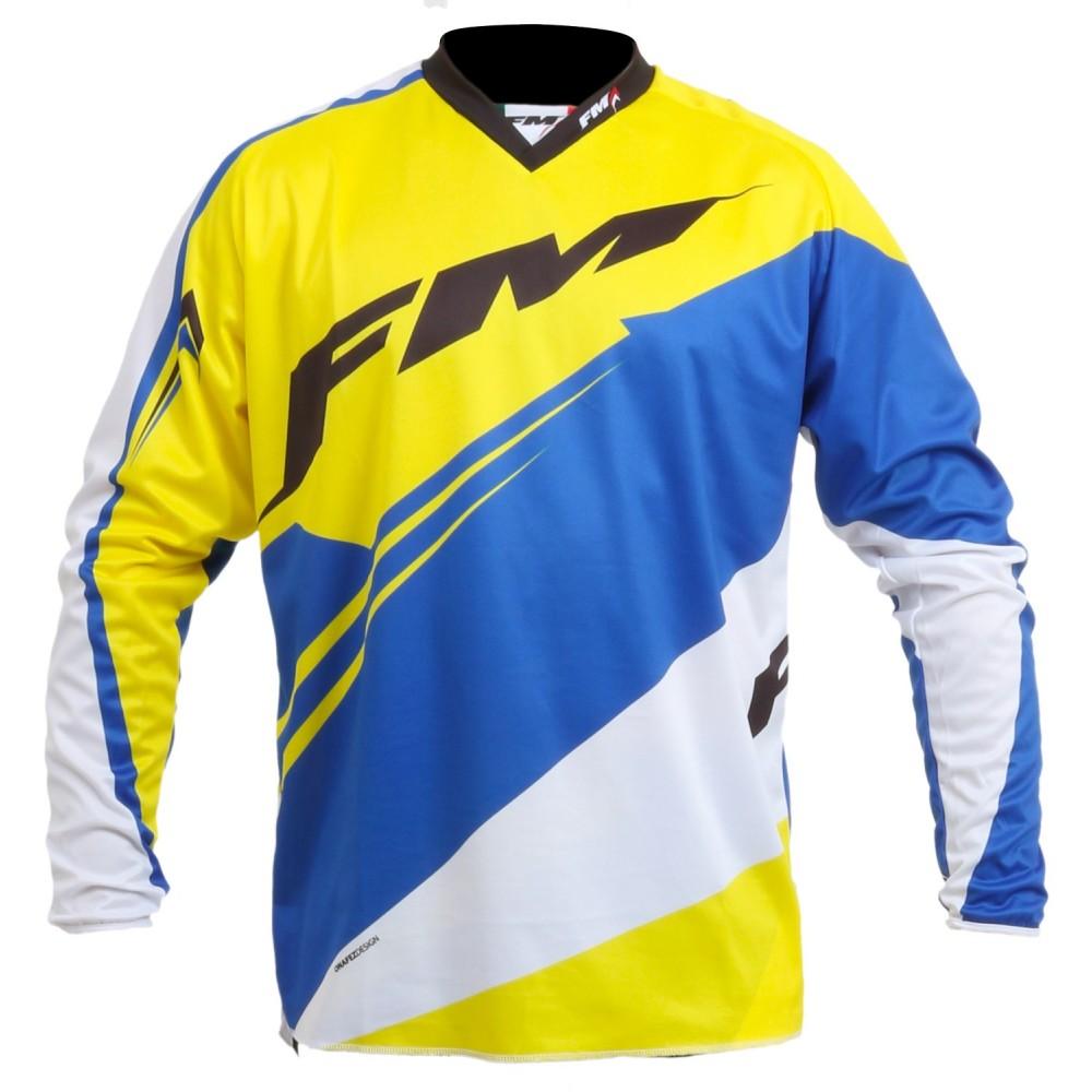 FM Force x23 giallo blu maglia