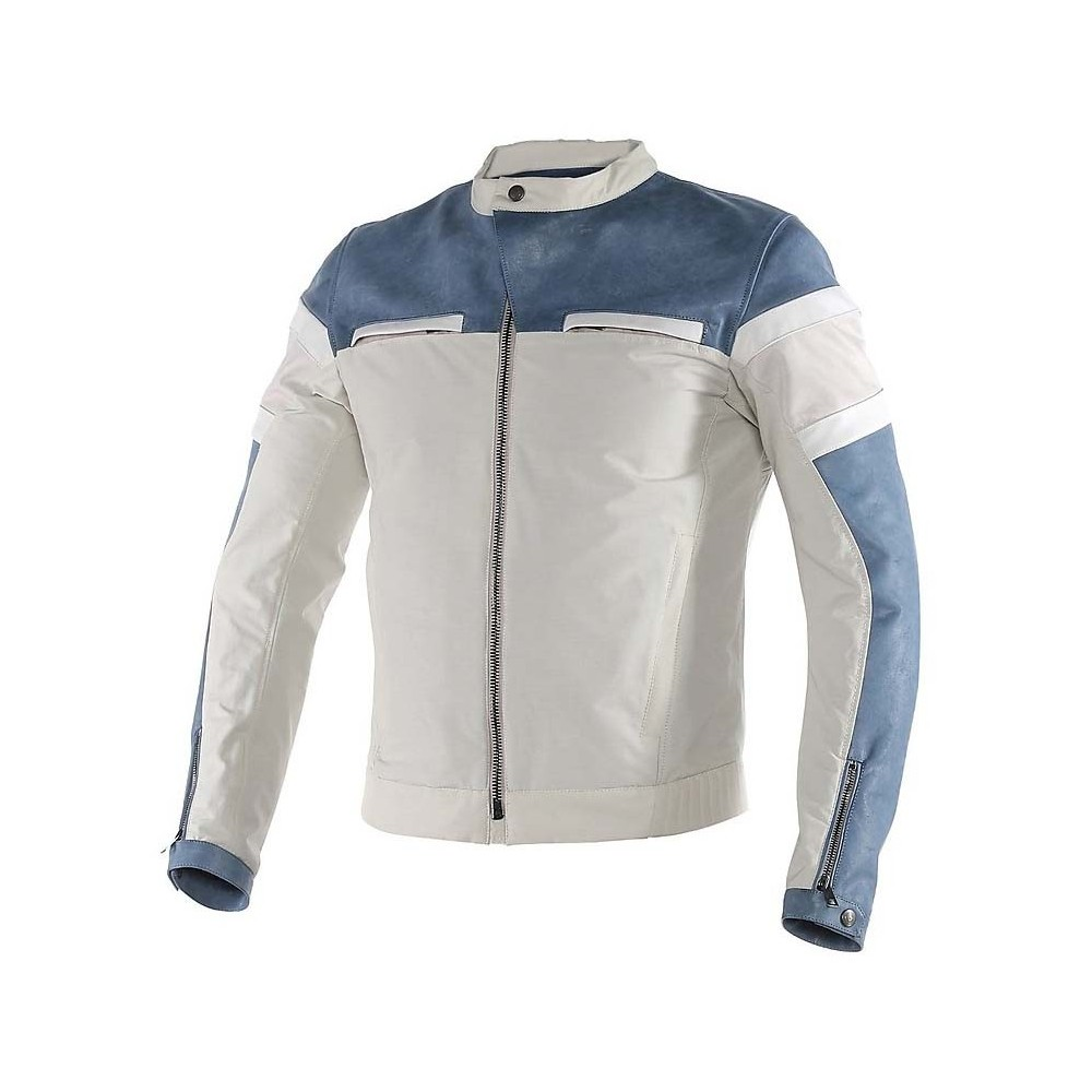 Dainese Zhen pelle/tessuto - quing/blu/white
