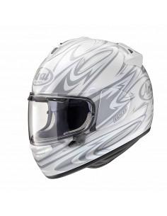 casco Arai chaser-x nova white front