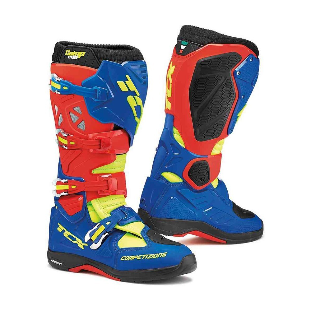 TCX Comp Evo - Red/Blue/Yellow