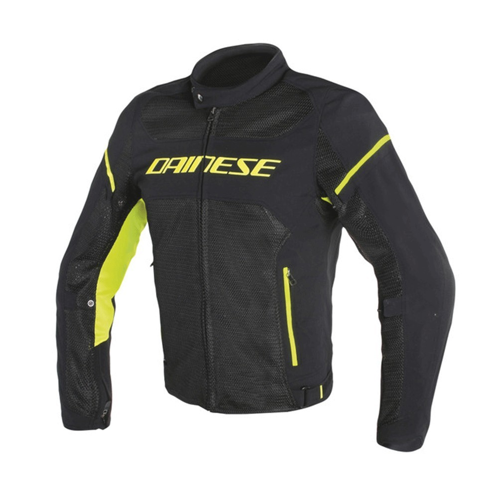 Dainese AirFrame D1 Lady - Black/Yellow Fluo