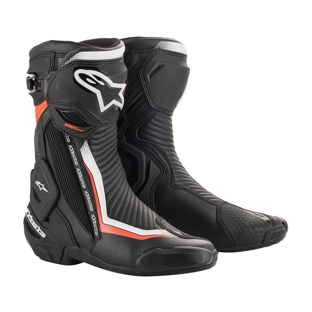 Alpinestars SMX Plus V2 - Nero/Bianco/Rosso