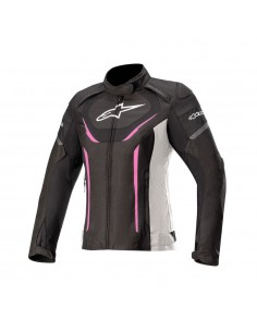 Alpinestars Stella T-Jaws V3 WP - Black/White/Fucsia