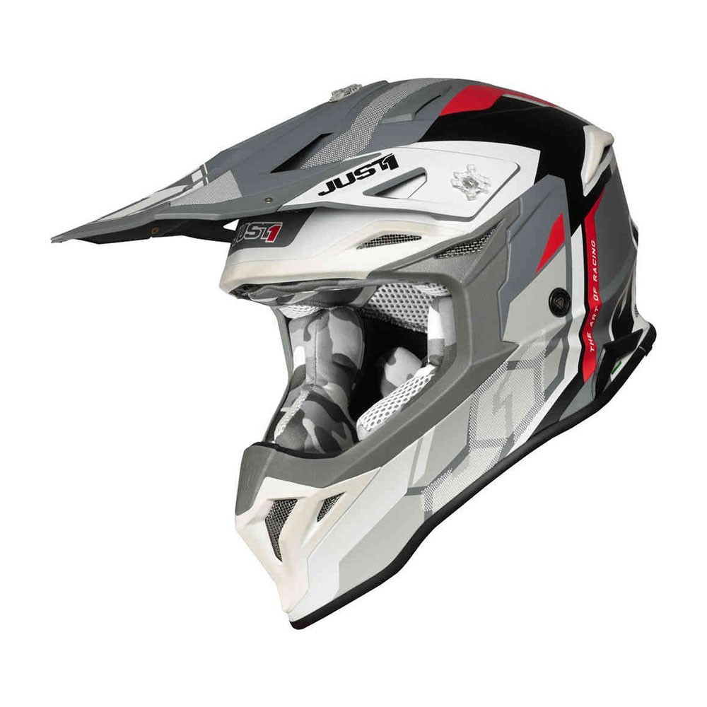 Just1 J39 Reactor - White/Red/Grey