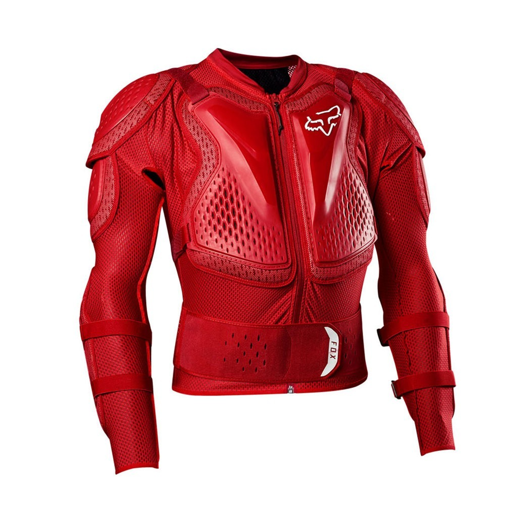 Fox Titan Sport - Flame Red