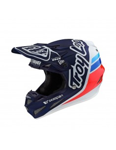 Troy Lee Design SE4 - Composite Silhouette Team - Navy/White