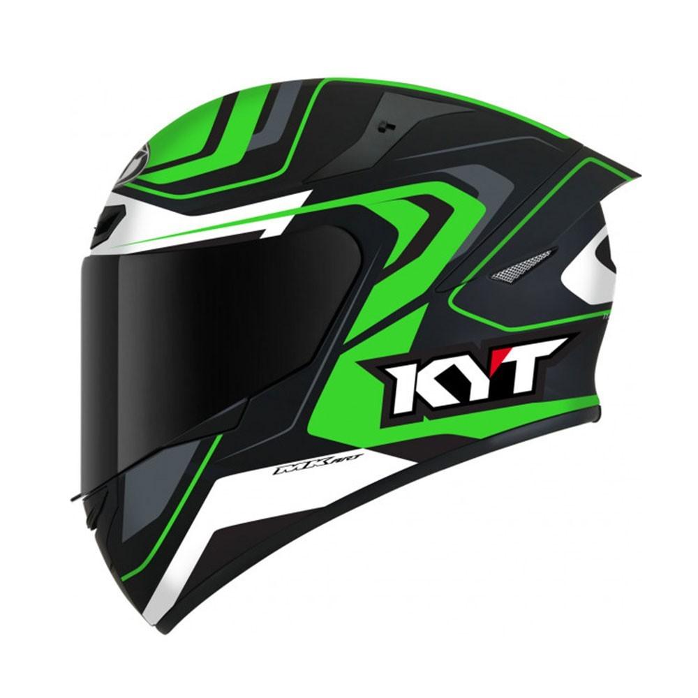 KYT TT-Course - Overtech Black/Green