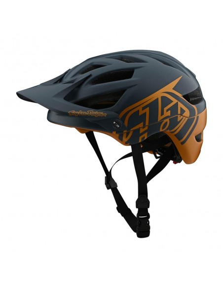 Troy Lee Design A1 MIPS Classic - Gray/Gold