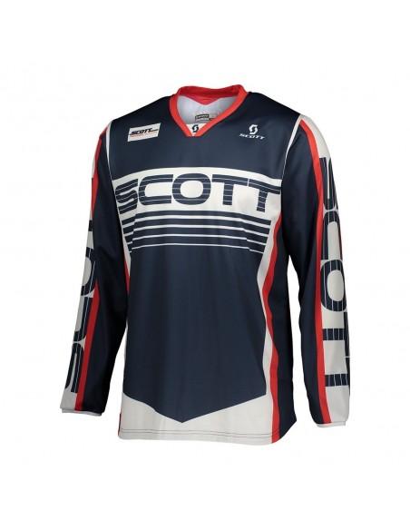 Scott 350 Race - Maglia - Blue/Red 021