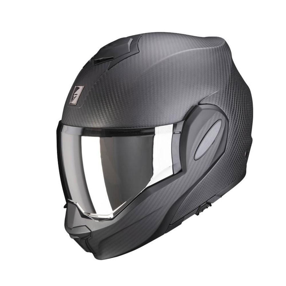 Scorpion Exo-Tech Carbon - Solid Matt Black