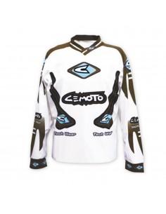 Cemoto Tech 3 - Maglia - Brw/Azzurro