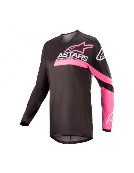 Alpinestars Stella Fluid Chaser 022 - Maglia - Blk/Pink