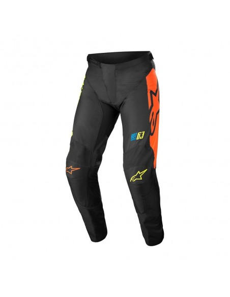 Alpinestars Youth Racer Compass 022 - Pant - Blk/Yell Fl/Coral