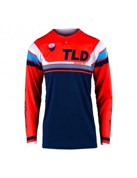 Troy Lee Design SE Seca - Maglia - Orange/Dark Navy