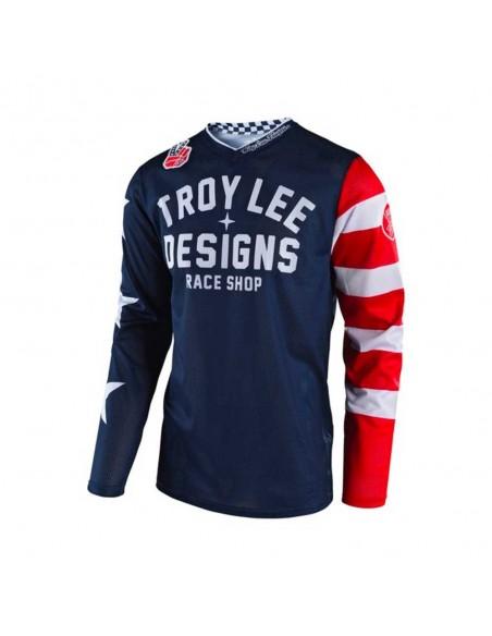 Troy Lee Design Gp Air Americana Youth - Maglia - Navy